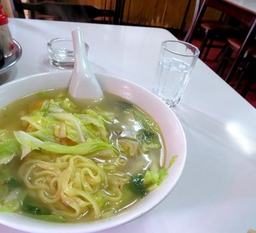 「特製平打ち麺のタンメン(820円)」@邨昌の写真