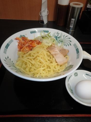 「桜えびの汁なしラーメン」@日高屋 阿佐ヶ谷パールセンター店の写真