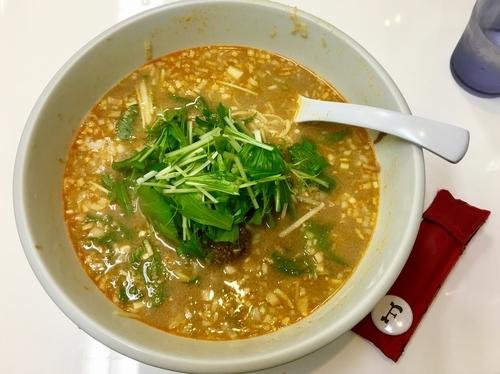 「金胡麻担担麺」@天満橋ササラの写真