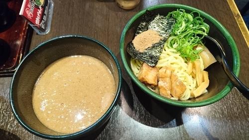「魚介とんこつつけ麺(並)・・800円」@だるまのめ 本厚木店の写真