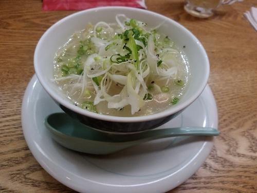「鶏塩葱ラーメン430円」@魚民 高崎西口駅前店の写真