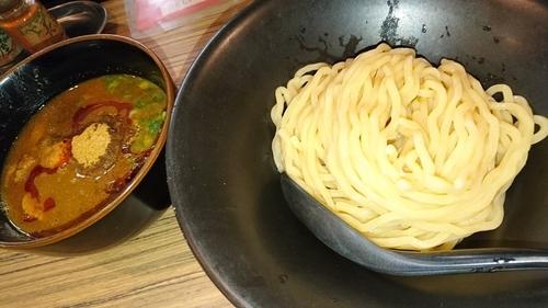 「濃厚味噌つけ麺」@吟醸らーめん 久保田 本店の写真