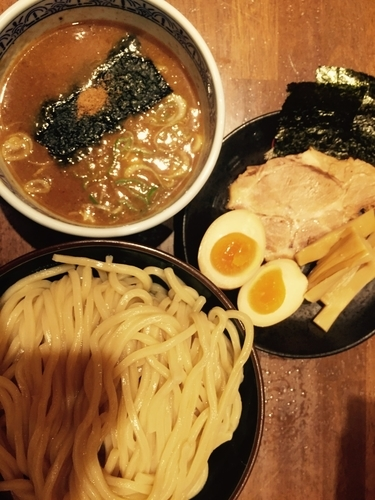 「つけ麺大・三田盛り」@つけ麺専門店 三田製麺所 川崎店の写真
