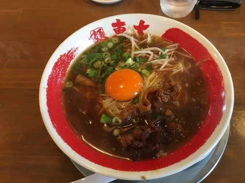 「徳島ラーメン」@ラーメン東大 沖浜店の写真