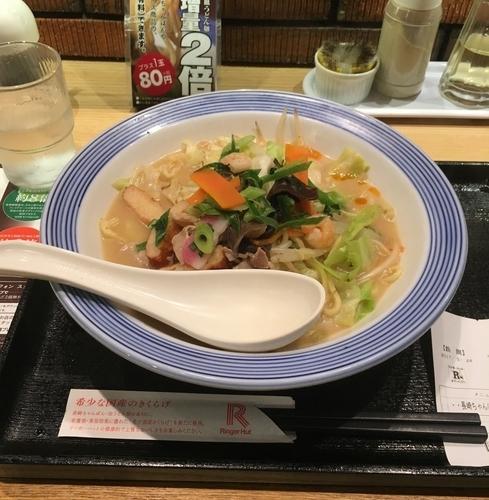 「長崎ちゃんぽん(¥626)」@長崎ちゃんぽん リンガーハット 上野御徒町店の写真