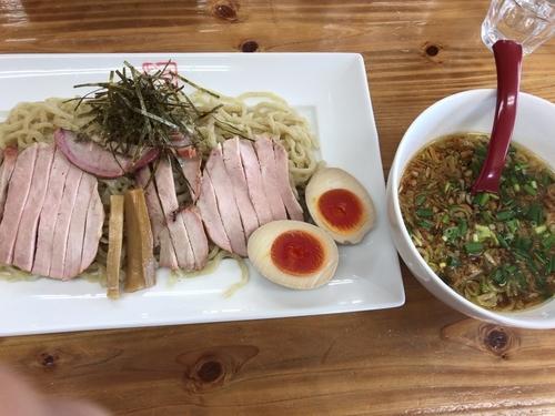 「香味つけ麺800円+ラーパス味玉」@ドリームロード 道夢の写真
