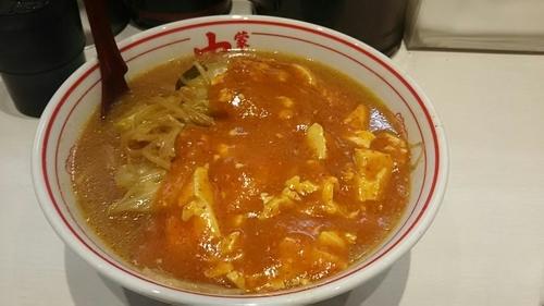 「蒙古タンメン麺大盛り800円」@蒙古タンメン中本 秋津店の写真