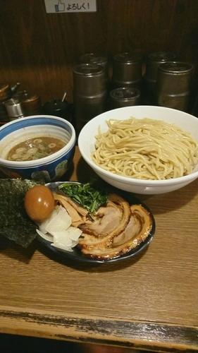 「特製つけ麺」@麺屋あらき 竈の番人外伝の写真