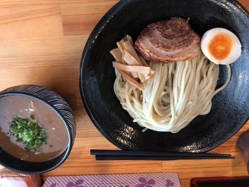 「柚子味噌つけ麺」@麺屋 花菱の写真