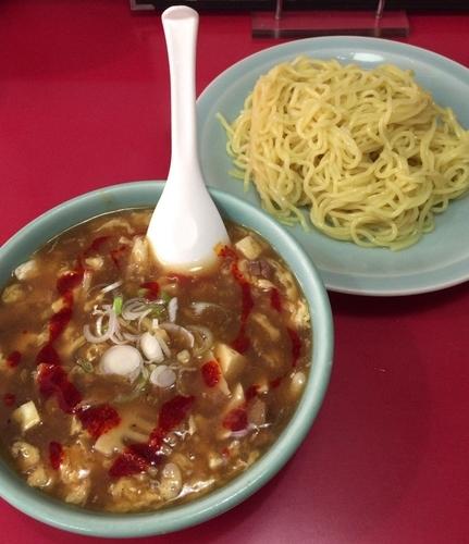 「サンラータンつけ麺 ¥600」@中華料理 大輦の写真