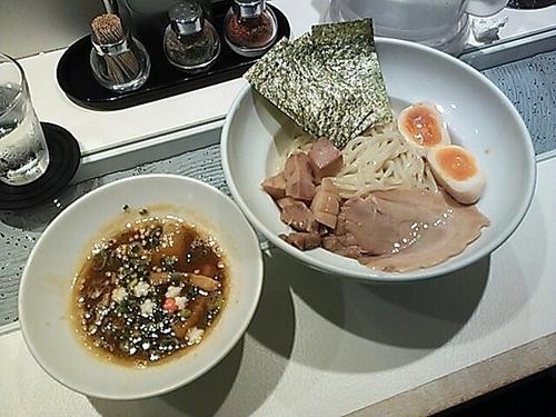「スペシャルつけ麺・Aセット」@らーめんと甘味処 九月堂の写真