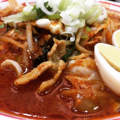 「北極やさいシャキシャキ(麺→豆腐変更券)」@蒙古タンメン 中本 上板橋本店の写真