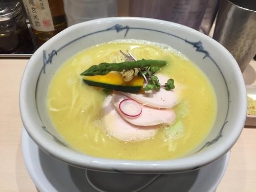 「鶏白湯Soba 950円」@銀座 篝 Echika池袋店の写真