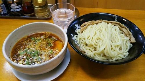 「つけ麺(旨辛ゆず醤油) 中盛」@らーめん逆流の写真