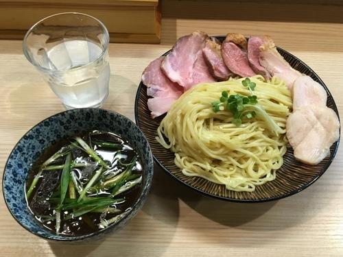 「鴨醤油つけ麺」@麺処 鶏谷の写真