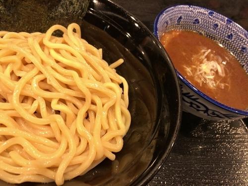 「濃厚魚介つけめん」@麺屋 中川會 錦糸町店の写真