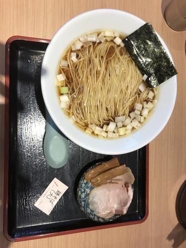 「淡麗鳥そば醬油味・大 880円」@松戸富田製麺 ららぽーとTOKYO-BAY店の写真