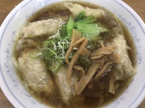 「俺のワンタン麺1000円」@MENYA 食い味の道有楽の写真