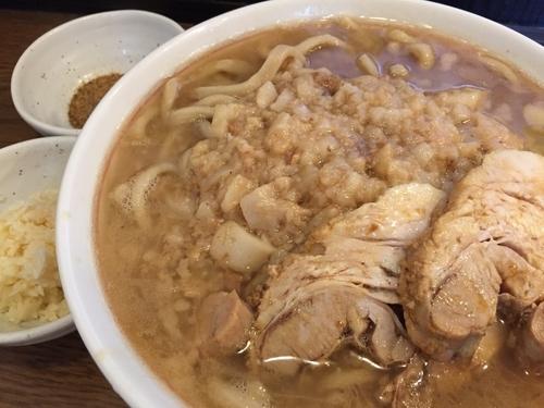 「ラーメン 400g 850円 魚粉 50円」@眞久中の写真