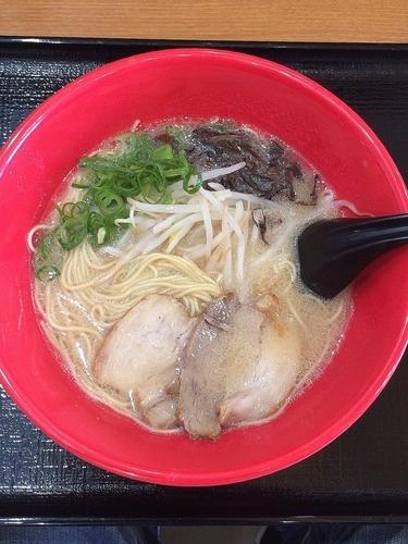 「豚骨ラーメン」@あきよし麺工房の写真