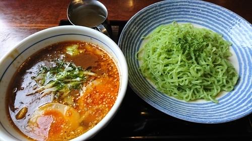 「角煮カレーつけ麺 950円」@麺カフェ ダボハウスの写真