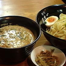 「横浜付け麺800円+辛味噌50円」@麺処 まさごの写真