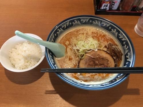 「味噌らーめん」@麺や 樽座 小宮店の写真