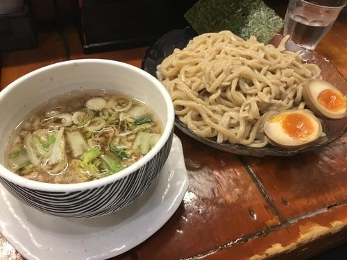 「冷やしつけ麺 中」@つけ麺 紫匠乃 門前仲町店の写真