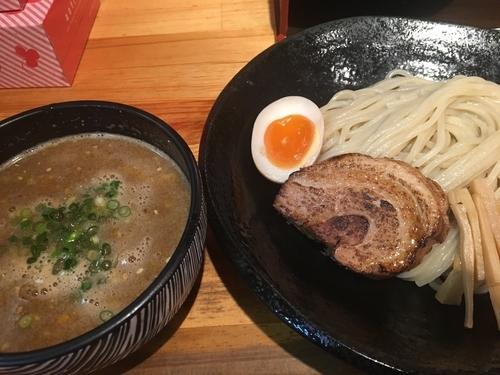 「柚味噌つけ麺800円」@麺屋 花菱の写真