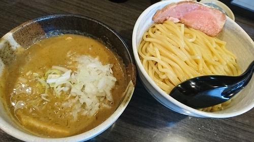 「塩つけ麺(中)+玉ねぎ ¥ 950」@つけ麺 陽の写真