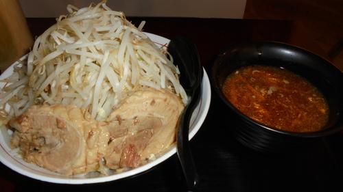 「つけ麺(大盛)」@自家製麺 麺虎の写真