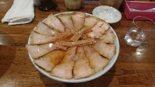 「醤油ダブルチャーシューメン ¥1000」@丸信ラーメン 駅前店の写真