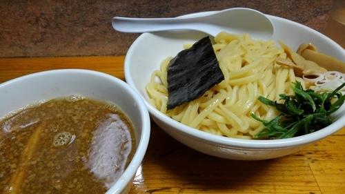 「(限定)たまり醤油のつけ麺 830円」@元祖一条流がんこ 十一代目の写真
