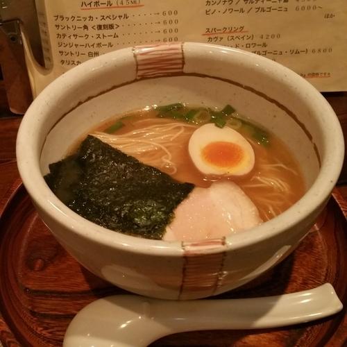 「ジャンゴらーめんハーフ(細麺)」@麺屋 じゃんごの写真