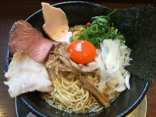 「濃厚たまごの和えそば(大盛)」@麺道 麒麟児の写真