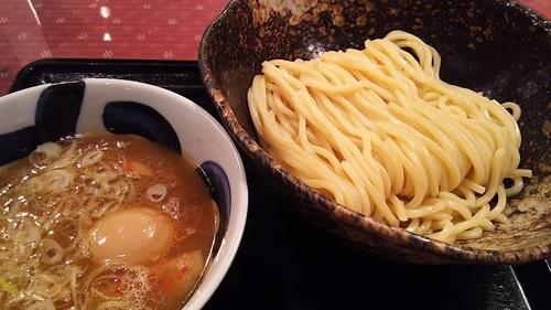 「半熟味玉つけ麺」@三ツ矢堂製麺 長野東和田店の写真