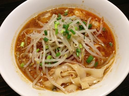 「タンタン刀削麺」@西安料理 唐園の写真