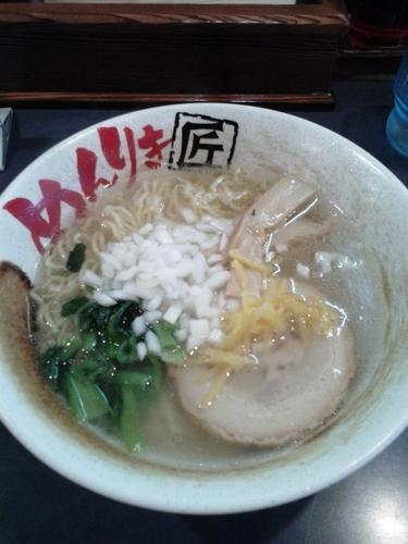 「ゆず塩ラーメン(650円)」@めんりき匠ラーメン 日野本店の写真