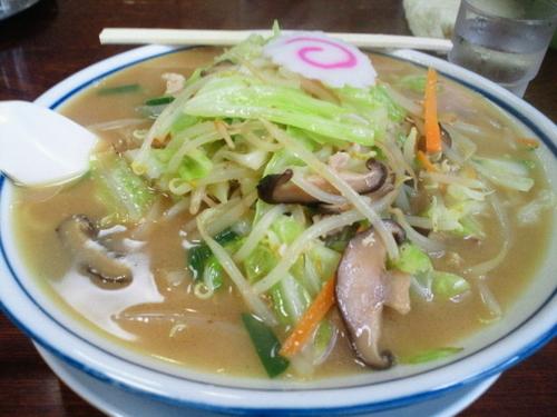「しいたけ味噌ラーメン大盛 780円」@まるた食堂の写真