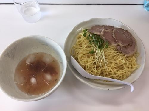 「限定 冷し梅しおつけめん (麺量300g 900円)」@ラーメンKAZE 本店の写真
