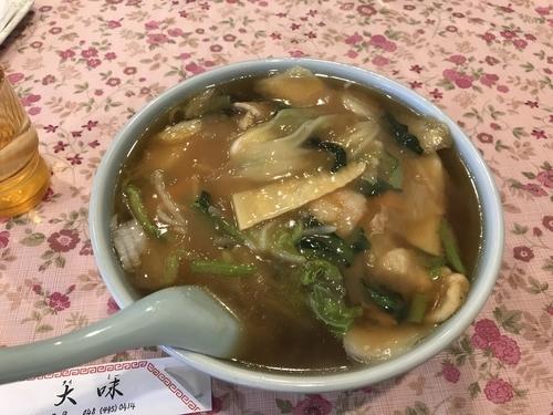 「五目うまにそば」@中国料理 大味の写真