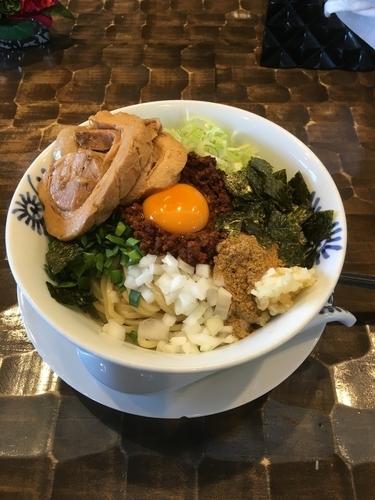 「トロ豚台湾まぜそば」@特級鶏蕎麦 龍介の写真