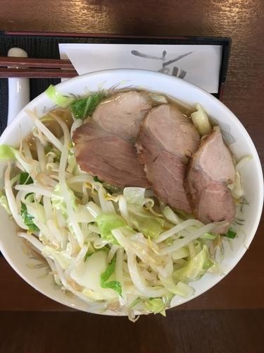 「野菜ラーメン(750¥)」@ラーメンあやの写真