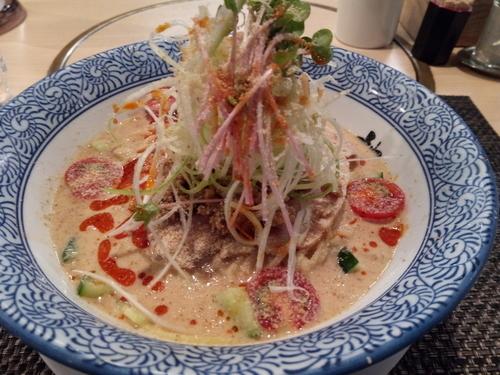 「限定 冷やし担々麺」@らーめん セアブラノ神 壬生本店の写真