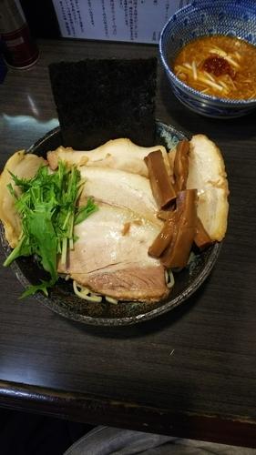 「味噌つけ麺」@ラーメンつけ麺 奔放の写真