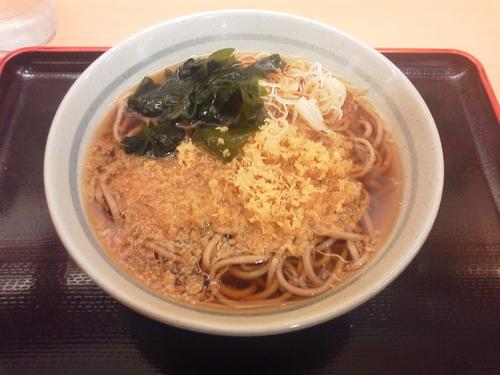 「たぬきそば 350円」@かのや 新宿西口店の写真