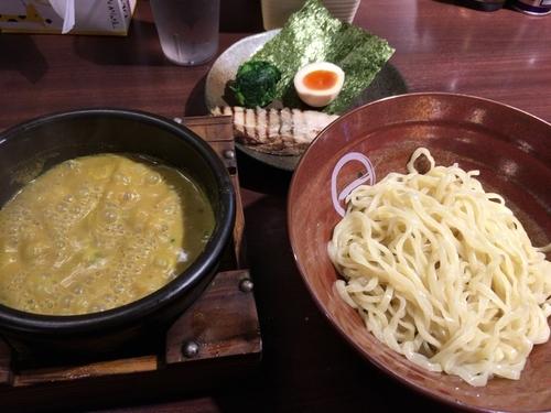 「カレーつけ麺+サービスライス」@しゅういち 恵比寿店の写真