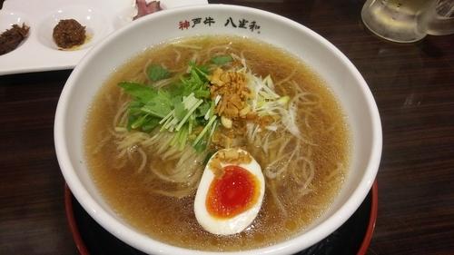 「Black 神戸牛醤油」@八坐和の写真