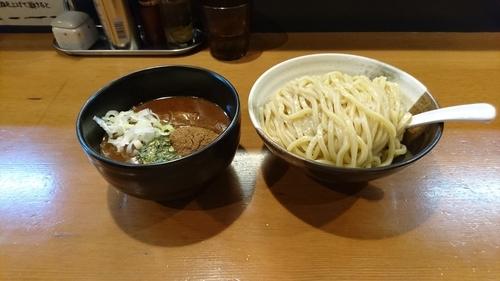 「濃厚つけ麺(大盛) 800円 + チャーマヨ飯 300円」@つけめん小半の写真