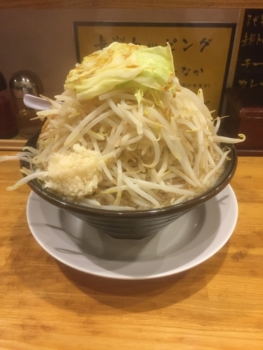 「ラーメン醤油並ヤサイちょいマシ」@麺 たなかの写真